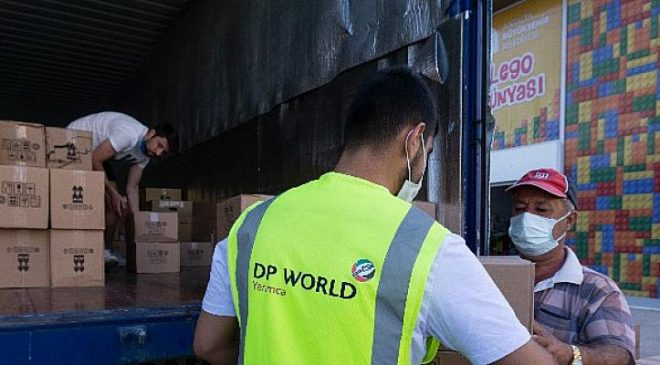 DP World Yarimca and P&O Ferrymasters Team Up To Deliver Vital Supplies To Frontline Areas Battling Fires