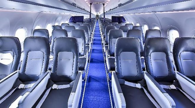 Airbus' new Single-Aisle Airspace cabin enters into service with Lufthansa Group